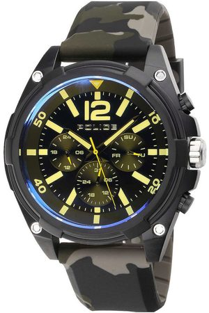 Police Reloj analógico PEWJQ2007401, Quartz, 51mm, 5ATM para hombre