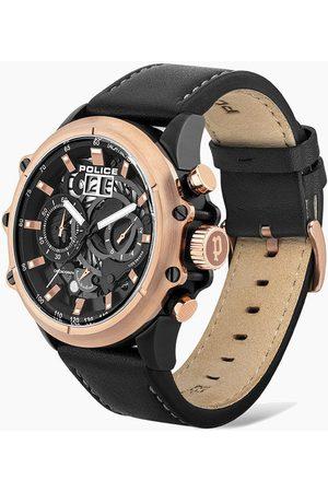 Police Reloj analógico PL16018JSBR.02, Quartz, 49mm, 3ATM para hombre