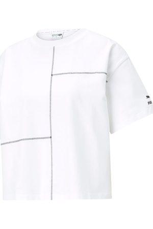 PUMA Camiseta - T-shirt bianco 531312-02 para mujer