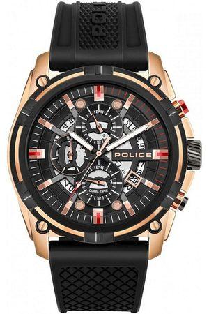 Police Reloj analógico PEWJQ2003540, Quartz, 46mm, 5ATM para hombre