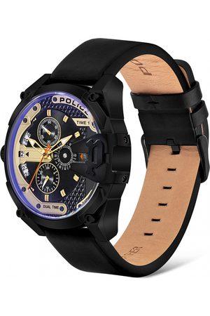Police Reloj analógico PL16066JSB.02, Quartz, 47mm, 3ATM para hombre