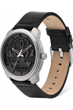 Police Reloj analógico PL15714JS.02, Quartz, 44mm, 3ATM para hombre
