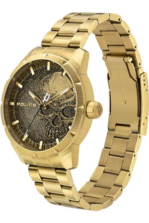 Police Reloj analógico PL15715JSG.02AM, Quartz, 46mm, 3ATM para hombre