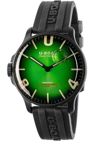 U-BOAT Reloj analógico 8698, Quartz, 44mm, 5ATM para hombre