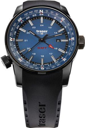 Traser H3 Reloj analógico Traser 109743, Quartz, 46mm, 10ATM para hombre