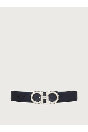 Salvatore Ferragamo Hombre Cinturones - Hombre Cinturón reversible y ajustable Gancini