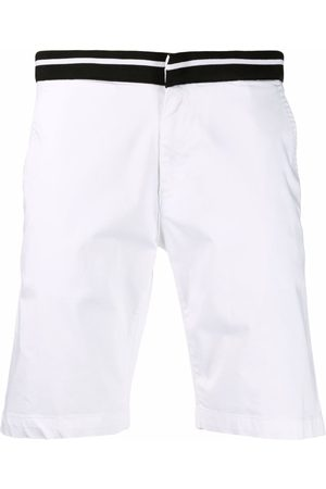 Karl Lagerfeld Bermudas con ribete de canalé