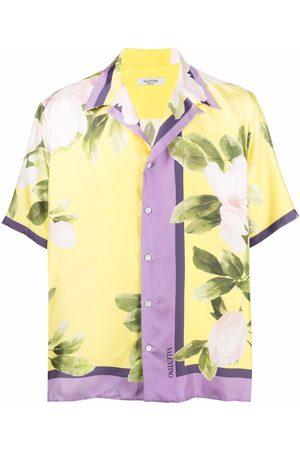VALENTINO Hombre Estampadas - Camisa con estampado floral