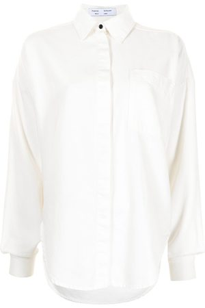 PROENZA SCHOULER WHITE LABEL Camisa con botones