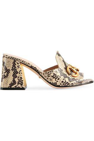 Gucci Mujer Zuecos - Sandalias Horsebit tipo mules