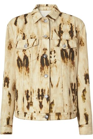 Burberry Mujer Vaqueras - Chaqueta vaquera descolorida con monograma