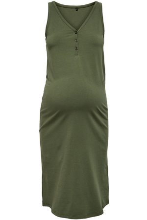 Only Mujer Vestidos - MAMA SOLID COLORED DRESS