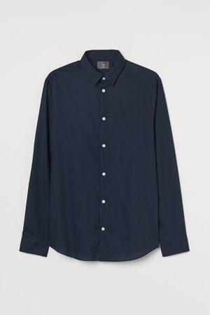 H&M Camisa Slim Fit Easy-iron