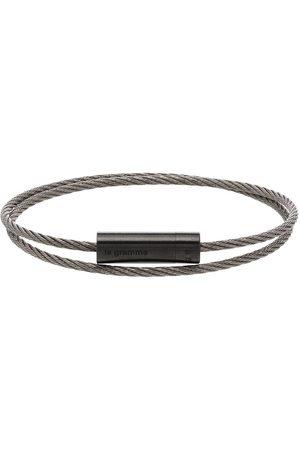 Le Gramme Pulsera con cable doble