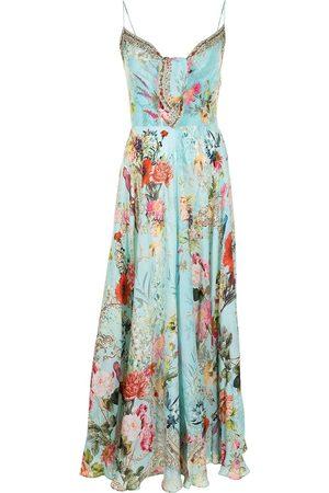 Camilla Vestido con estampado floral