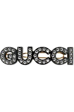 Gucci Horquilla para el pelo con detalles de cristal