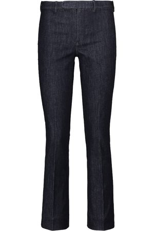 Max Mara Jeans ajustados Denimp de tiro medio