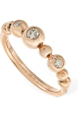 Dodo | Mujer Anillo Bollicine De Oro Rosa 9kt Con Diamante /crystal 50