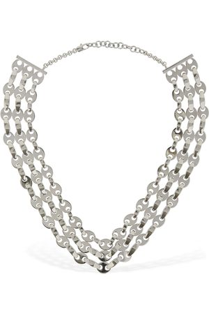 Paco rabanne Mujer Collares - | Mujer Collar Three Row Eight Nano Unique