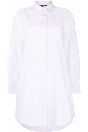 Karl Lagerfeld Mujer Camisas - Camisa con logo bordado
