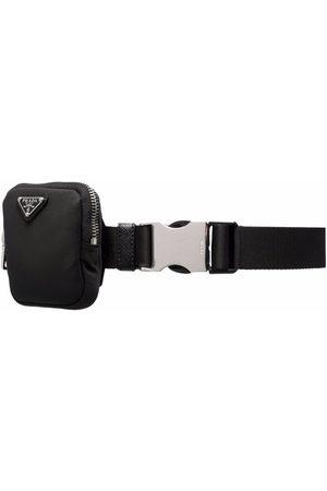 Prada Hombre Cinturones - Cinturón con placa del logo