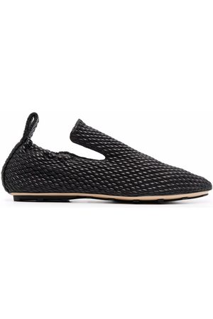 Bottega Veneta Hombre Slippers - Lattice quilted slippers