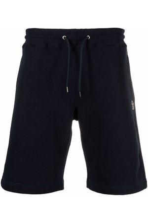 Paul Smith Zebra-patch cotton shorts