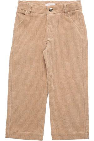 Chloé Chloé | Niña Pantalones De Pana De Algodón 14a