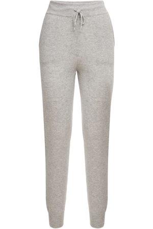 Loulou Studio | Mujer Pantalones Deportivos De Punto De Cashmere Xs