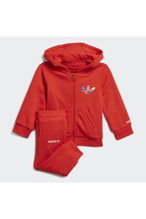 adidas Conjunto pantalón y chaqueta con capucha Adicolor