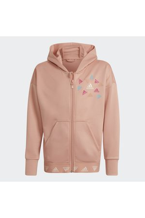 adidas Chaqueta con capucha AEROREADY Up2Move Cotton Touch Training Loose