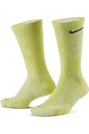 Nike Hombre Corbatas y corbatín - Everyday Plus Calcetines largos acolchados con estampado tie-dye (2 pares)