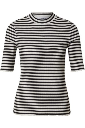SELECTED Mujer Camisetas y Tops - Camiseta 'ANNA
