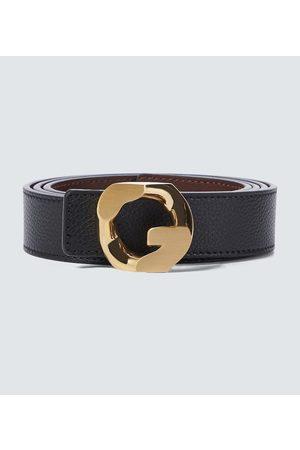 Givenchy Cinturón G Chain de piel reversible