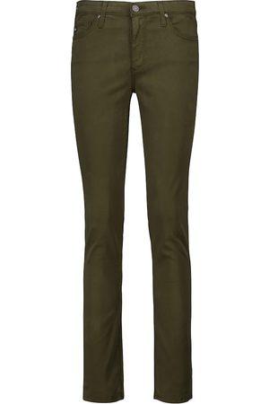 AG Jeans Jeans skinny de talle medio Prima