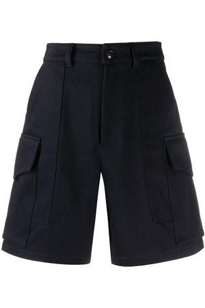 Ami Mujer Bermudas - Pantalones cortos con múltiples bolsillos