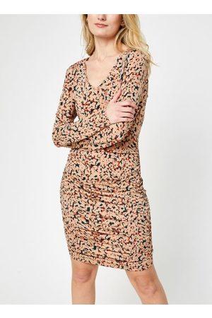 Noisy May Mujer Mini y ajustados - Nmfestive V-Neck Mini Dress