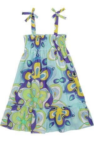 Vilebrequin Niña Vestidos - Vestido Gloss de algodón estampado