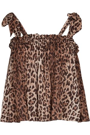 RIXO London Mujer Tops - Top lencero Pamala estampado