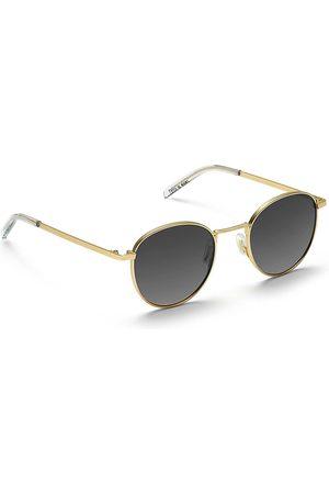 Take A Shot Arin Gold Sunglasses amarillo