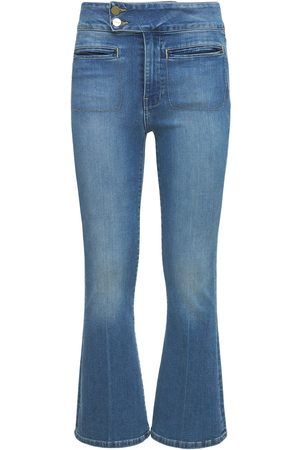 Frame   Mujer Jeans Cropped Acampanados Le Hardy 24