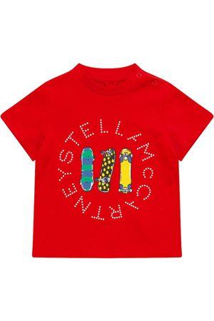 Stella McCartney Bebé – camiseta de algodón orgánico