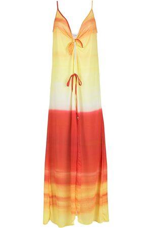 AMIR SLAMA Vestido de playa con efecto sombreado