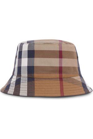 Burberry Sombrero de pescador a cuadros