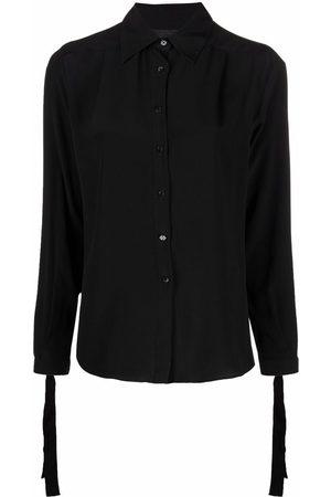 Philipp Plein Camisa de seda con botones