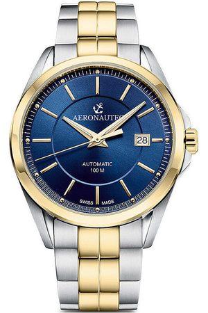 Aeronautec Reloj analógico ANT-44085.07, Automatic, 42mm, 10ATM para hombre