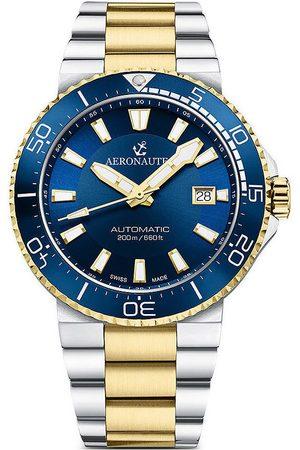 Aeronautec Reloj analógico ANT-44086-03, Automatic, 43mm, 20ATM para hombre