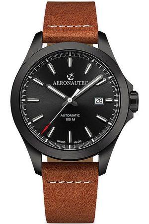 Aeronautec Reloj analógico ANT-44077.11, Automatic, 42mm, 10ATM para hombre