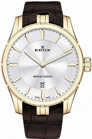 Edox Reloj analógico 56002-37JC-AID, Quartz, 41mm, 10ATM para hombre
