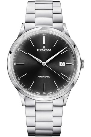 Edox Reloj analógico 80106-3M-NIN, Automatic, 42mm, 5ATM para hombre